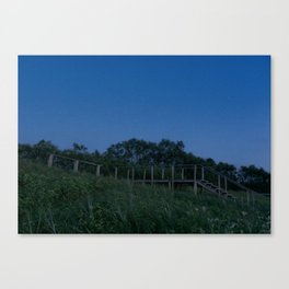Night in Nida Canvas Print