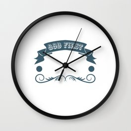 """Motocross Tee For Riders Saying """"God First! Then Family And Finally Motocross"""" T-shirt Design Break Wall Clock"""