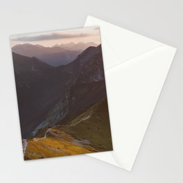 Before sunset - Landscape and Nature Photography Stationery Cards