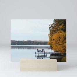 Dock Life  Mini Art Print