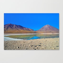 Laguna Verde Canvas Print