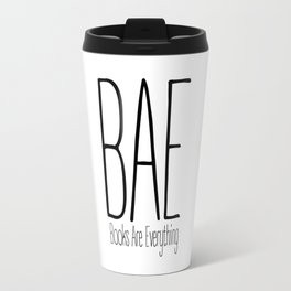 BAE Books Are Everything Bookworm Travel Mug
