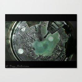 London Winter Storm 3a 2 Ingrid_Bubble_Film Canvas Print