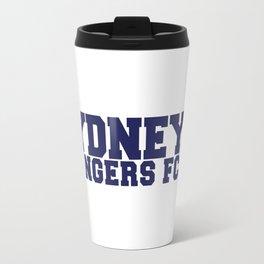 College - Blue Travel Mug