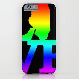 Illinois Pride USA State Love Map iPhone Case