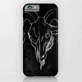 Head of Baphomet (Without Sigil iPhone Case