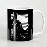 knight Mugs featuring Knight Watch by Artistic Dyslexia