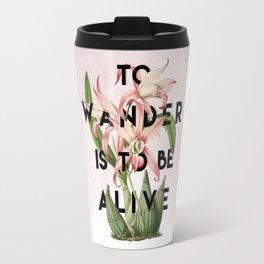 To Wander Travel Mug