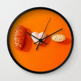 I LOVE EXTASY Wall Clock