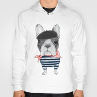 french Hoodies featuring French Bulldog. by Barruf