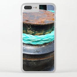 Green Rope Clear iPhone Case