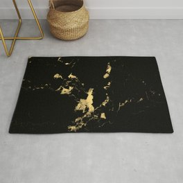 Black Marble #5 #decor #art #society6 Rug
