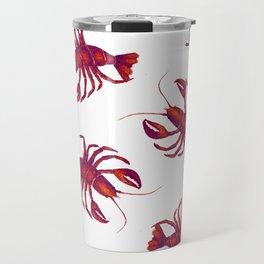 Le Lobster Rouge Travel Mug