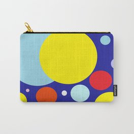 Vibrant Circles Carry-All Pouch