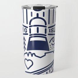 Long Island Crest Travel Mug