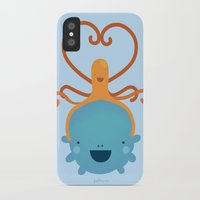 best friends iPhone & iPod Cases featuring Best Friends by Piktorama