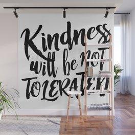 Nasty Kindness – Black Wall Mural