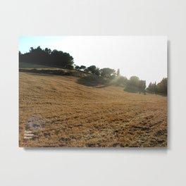 Chiaramonte Gulfi Metal Print