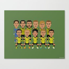 Borussia Dortmund 2012 (squad) Canvas Print
