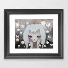 Not All Fun and Games Framed Art Print