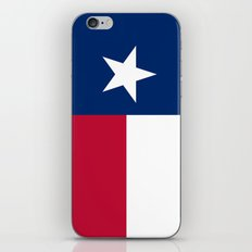Texas state flag - High Quality Image iPhone & iPod Skin