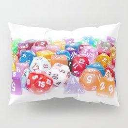 Treasure Trove of Gaming Dice Pillow Sham