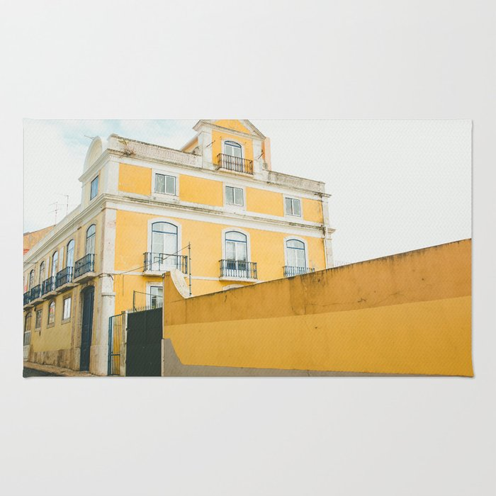 Lisboa in yellow Rug