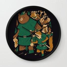 oo-de-lally Wall Clock