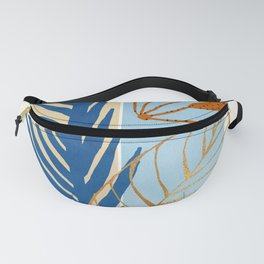 Coastal Botanical - Abstract Nature Design Fanny Pack