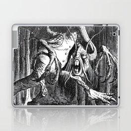 Jabberwocky Illustration from Alice in Wonderland Laptop & iPad Skin