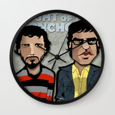 Flight of the Conchords Wall Clock