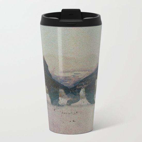 Grizzly Bear Metal Travel Mug