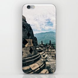 Borobudur Peak (ll) iPhone Skin