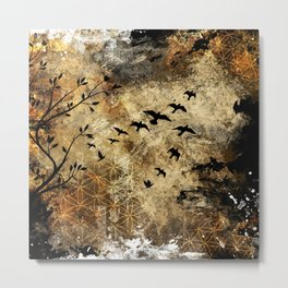 Life In Midst Of Chaos Metal Print