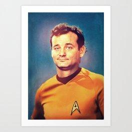 Captain Bill Art Print