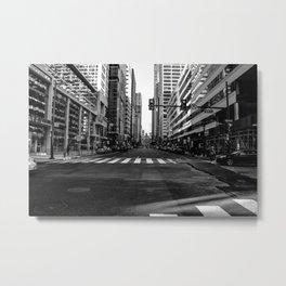 Center City Metal Print