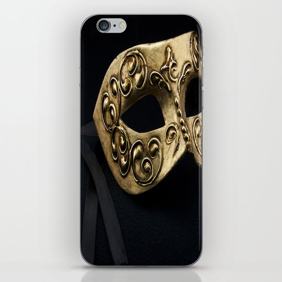 Behind The Mask iPhone Skin