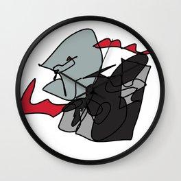 Elderly Assassin Wall Clock