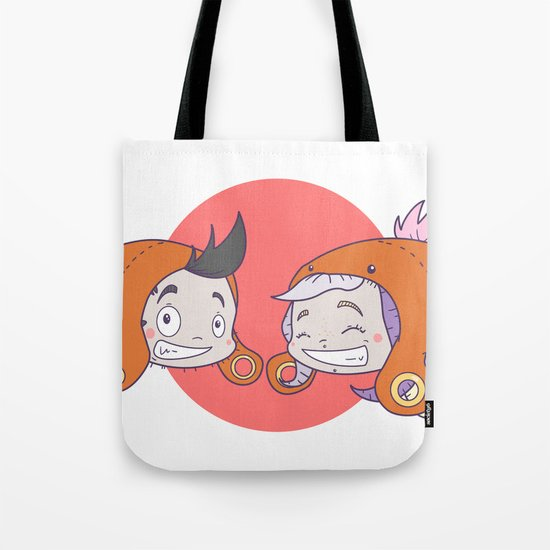 Pischas go to Japan ! Tote Bag