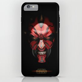 cutie Darth Moal iPhone Case