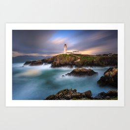 Fanad Head Lighthouse Art Print