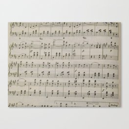 The Blue Danube Waltz  Canvas Print
