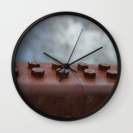 -Bolts- Wall Clock