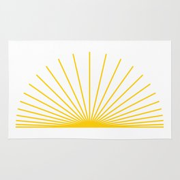 Ray of sunshine Rug
