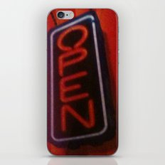 Open For Business iPhone & iPod Skin