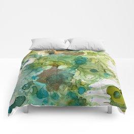 Lime Splash Comforters