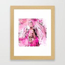 Breast Cancer Angel #2 Framed Art Print