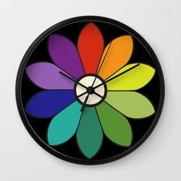 James Ward's Chromatic Circle (interpretation) Wall Clock