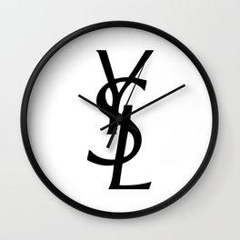 YSL Wall Clock