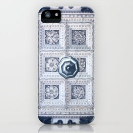The ceiling of the hall of St. Isaac's Cathedral iPhone Case